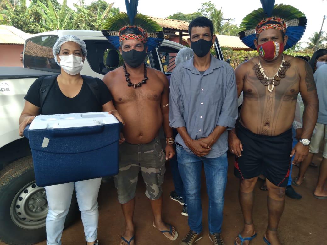 Vacinação é iniciada na comunidade indígena Aldeia Velha em Arraial d´Ajuda 25